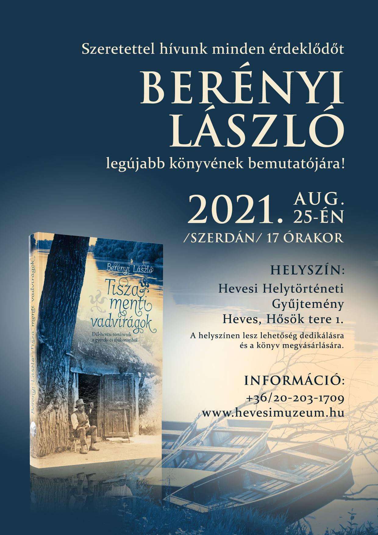 Berényi László könyvbemutató (08.25.)